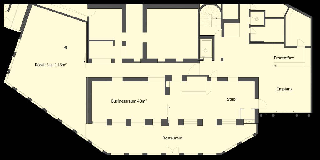 Lageplan Seminarräume