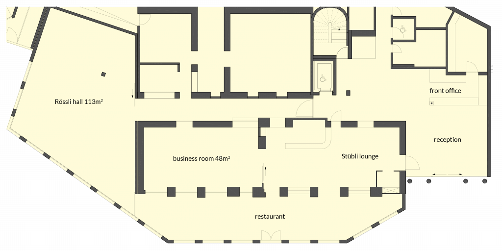 Site plan Seminar rooms